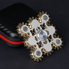 Fidget EDC 9 Gears Linkage Spinner Finger Hand Spinning Anxiety Relief Toys