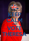 Keep Calm Vote Theresa May, Conservative, Election, Wall Art/Poster/All Sizes 18
