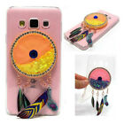 Wind chimes liquid quicksand Rubber Soft TPU Back Case Cover For Various phones
