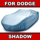 [DODGE SHADOW] CAR COVER © ✅ Custom-Fit ✅ Quality ✅ Waterproof ✅ Best ✅ ⭐⭐⭐⭐⭐