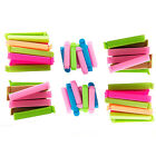 Magik 30~60 PCS Food Sealing Clips Bag Sealers, Assorted Colors and Sizes