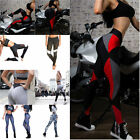 Women Tight Pants High Waist Yoga Fitness Leggings Running Gym Stretch Trousers