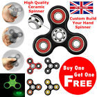 Hybrid ZrO2 CERAMIC & STEEL FIDGET HAND FINGER SPINNER EDC Pocket Gyro