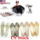 NEW Women Crystal Glitter Plastic Jelly Hollowed Beach Ballet Shoes Flat Sandals