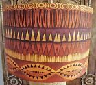 Tribal Print Lampshade Shabby Chic vintage african FREE GIFT
