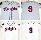 Roy Hobbs #9 New York Knights The Natural Movie Redford Baseball Jersey STITCHED