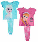 Girls PACK OF 2 Disney Frozen Anna & Elsa Pyjamas 2-3 Years SALE
