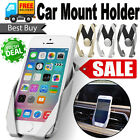 Universal Car Mount Air Vent Holder Stand Fr IPHONE SAMSUNG GPS PAD Mobile Phone