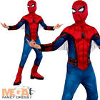 Spider-Man 2017 Homecoming Boys Fancy Dress Superhero Comic Book Childs Costume