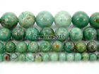 "Natural Australia Dragon Blood Jade Gemstone Round Beads 15.5"" 6mm 8mm 10mm 12mm"