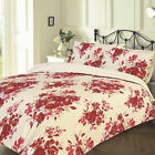 Pieridae Bedding Set Duvet Cover Red Flowers Quilt Single Double King Florence