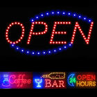 tizen os app store - Flashing Motion LED Business Sign Shop Store Open Coffee Club Display Neon Light
