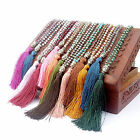 High Boho Bohemian Beaded Tassel Pendant Necklace Long Sweater Chain Jewelry