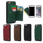 """Shockproof Protective Wallet Leather Case with Card Slots for iPhone 7 Plus 5.5"""""""