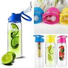 Tritan Plastic700ml Fruit Infuser Water Bottle Premium BPA Free Plastic UK STOCK