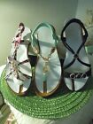 Mi.im BEJEWELED Woman's SANDALS Strappy Sz 10 Asst COLORS Synthetic You choose!