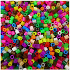 1000pcs 5mm Plastic Hama Perler Beads For Educate Kids Child Gift Candy Color