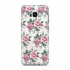 SHABBY CHIC FLORAL FLOWERS HARD MOBILE PHONE CASE COVER FOR SAMSUNG GALAXY S8