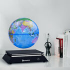 Magnetic Floating Levitating Globe World Map with LED Light for Home Decor 6""
