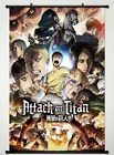 Wall Scroll Poster Fabric Painting Attack on Titan Key Roles