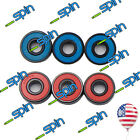 ABEC-7 Red / Blue Bearings 8mm Longbaord Skatoard Roller Skate Fidget Spinner image