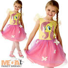 Fluttershy Girls My Little Pony Girls Fancy Dress Fairy Tale Childrens Costume