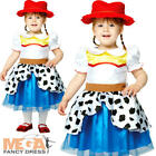 Jessie Toy Story Girls Fancy Dress Cowgirl Kids Disney Toddlers Infants Costume