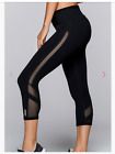 NWT LORNA JANE Wrapped Up Core 7/8 Tight Legging Pant Mesh BLACK SOLD OUT XS S L
