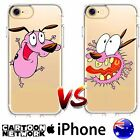 iPhone Case Cover Silicone TPU Courage the cowardly Dog Millennials FreshPrintAU