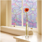 Window Film Sticker Static Decorative Privacy Frosted Stained Glass Home Décor