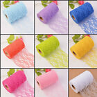 Lace Fabric Tulle Roll Table Wedding Decor Party Sash Chair Decor Pretty