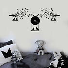 Vinyl Wall Decal Branches Birds Clock Leaves Kids Room Stickers Murals (ig4804)