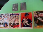 1988 Topps Gallery Mark McGwire Aluminum CD Oakland Athletics with 4  Free Cards