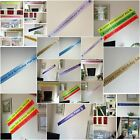 100mm x 1m Birthday Ribbon Banners any name any message any clipart 29 colours