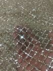 15 YARDS - GORGEOUS GOLD SPARKLE GLITTER MESH LACE FABRIC