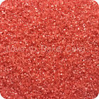 EDIBLE RED SPARKLING GLITTER SUGAR CRYSTALS Cupcake Cake Sprinkles 25g-500g