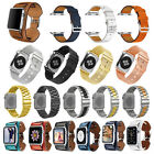 Nylon/Stainless/Genuine Leather/ Mesh Strap Band for Apple Watch iWatch 38 42mm