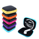 Hard Shell Carry Headphone Headset Earphone SD TF Card Case Bag Collector Pouch