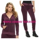 NWT Juicy Couture Velour Tracksuit Women Solid Jacket Jogger Pants Xs,S, M, L,XL