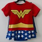 Wonder Woman DC Comics Baby Romper Toddler Superhero Jumpsuit Body Children Kids