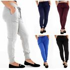 Ladies Tracksuit Bottoms Womens Joggers Trousers Jogging Gym Pants Lounge Wear