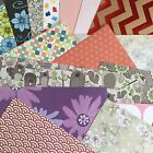 "SCRAPBOOKING PAPER - MIXED PACK of PATTERNED 12 x 12"" PAPERS"