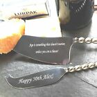 Cheese Knife Gift Set Personalised Stainless Steel Twisted Handle Knives 20% OFF