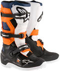 Alpinestars Youth Tech 7S Offroad Motorcycle Riding Boots Black Orange Blue