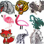Iron on sew on embroidered Animal patches appliqué anmals iron on for clothes