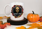 Jason Vorhees Mama's Boy Halloween Coffee Mug, Jason Hockey Mask Gift Idea
