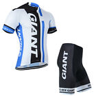 Bike Sports Cycling Jersey Shorts Sets Men's Bicycle Short Sleeves Suits Wear