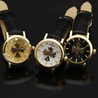 Fashion Cool Women Classic Automatic Analog Skeleton Mechanical Watch Gift
