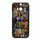 NEW JAMES BOND 007 RETRO COMICS PHONE CASE COVER  FITS HTC ONE  M7 M8 M8 MINI £4.99 GBP