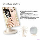 10X Magnifying Makeup Mirror+22 LED Lighted Cosmetic Vanity Stand Beauty Mirror